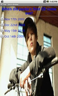 #1 Fan - Justin Bieber - LITE - screenshot thumbnail