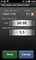 Screenshot of Insulin Bolus Calculator