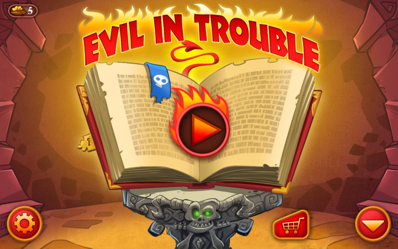 Evil In Trouble - screenshot