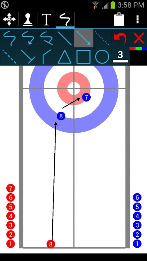 Curling Dood - screenshot