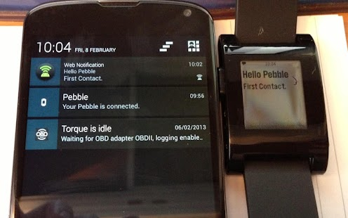 Notify My Pebble - screenshot thumbnail
