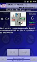 Screenshot of Quiz Patente 2015