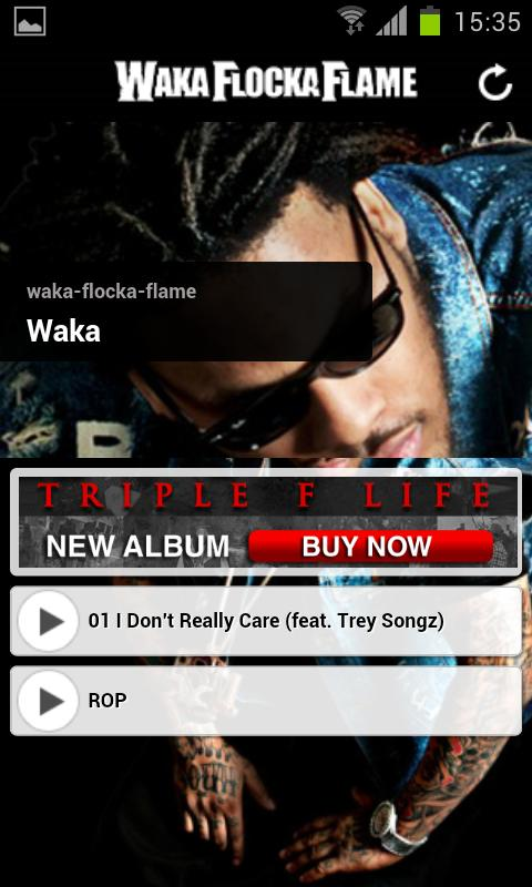 Waka Flocka Flame- screenshot