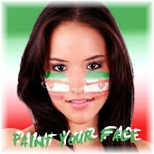 Paint your face Iran