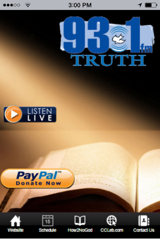 Bible Teaching Radio 24x7-WLEB- screenshot