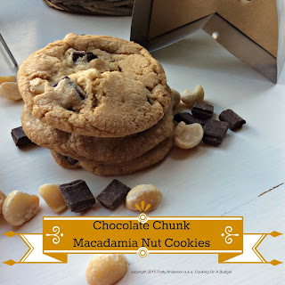 Chocolate Chunk Macadamia Nut Cookies