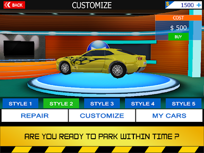 Parking 3D - Car Parking- screenshot thumbnail