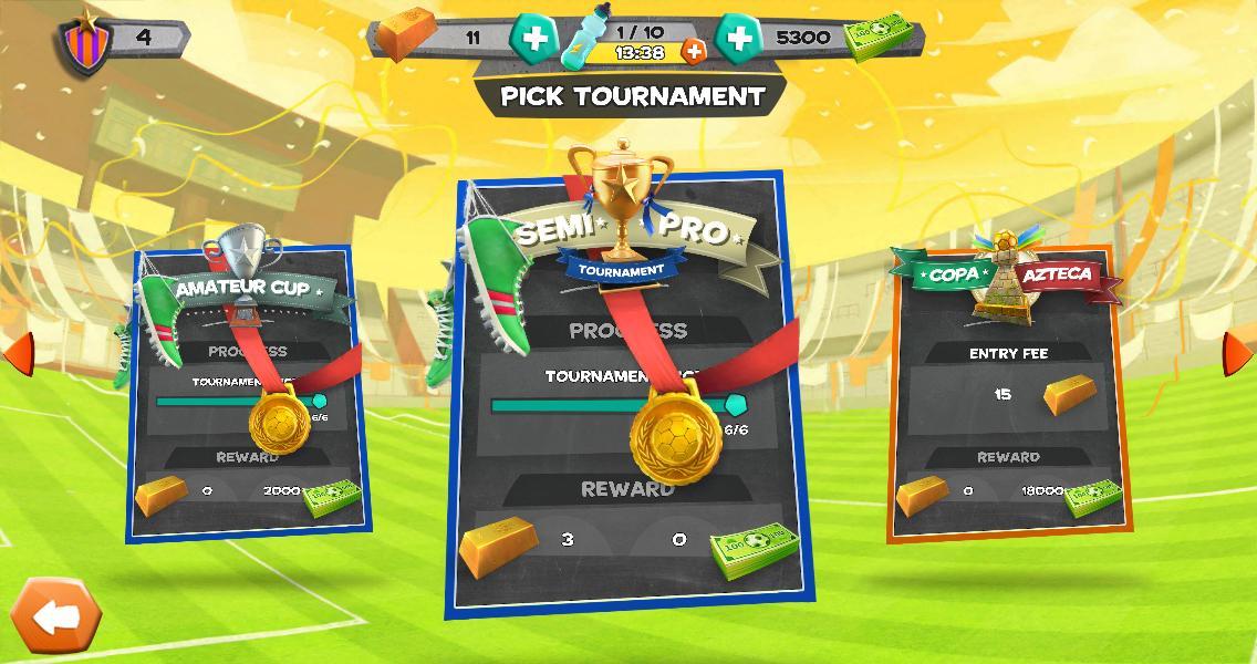 Disney Bola Soccer screenshot #2