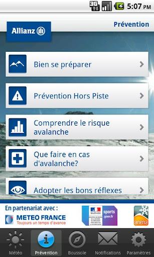 Info Neige by Allianz