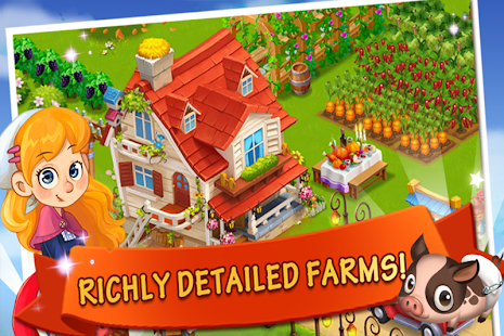 Happy Farm:Candy Day Screenshot 2