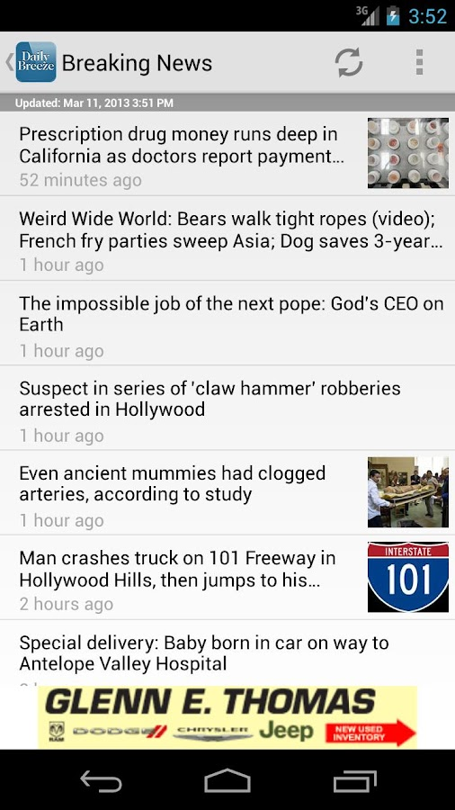 Torrance Daily Breeze - screenshot