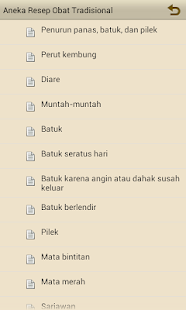 Aneka resep obat tradisional- screenshot thumbnail