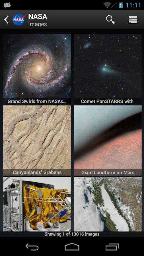 NASA App - screenshot