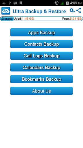 Ultra Backup Restore
