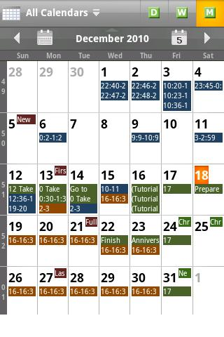 Checkmark All in One Calendar v2.4
