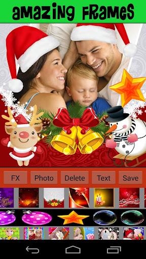 Merry Christmas Frames Pro