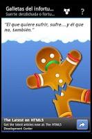 Screenshot of Galletas del infortunio