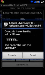 Advanced File Shredder - screenshot thumbnail