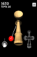 Screenshot of 3D Kendama