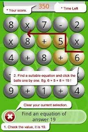 Math Scramble Lite Screenshot 2