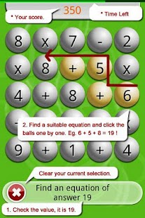 Math Scramble Lite Screenshot 4