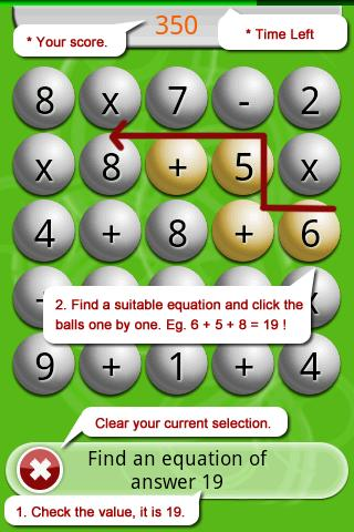 Math Scramble Lite- screenshot