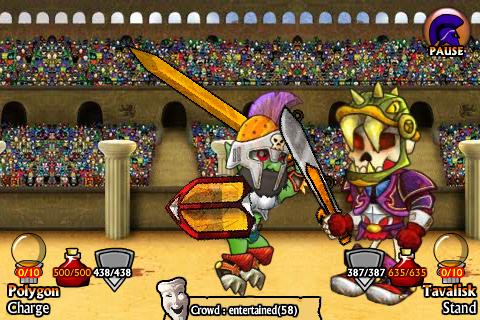 Swords and Sandals Screenshot 1