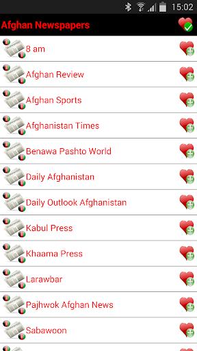 Afghan Newspapers