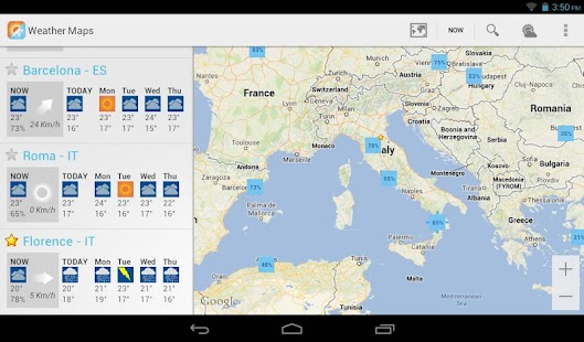 Weather Maps Beta- screenshot thumbnail