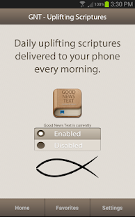Uplifting Scriptures - GNT- screenshot thumbnail