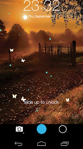 Butterfly locksreen v1.6.6