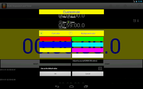 Multi Stopwatch & Timer  free screenshot 9