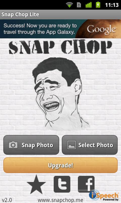 Snap Chop Lite- screenshot