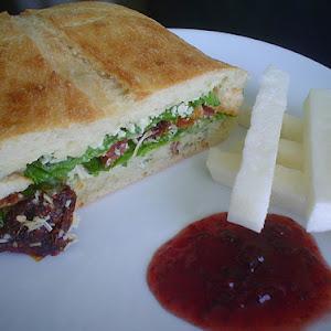 Caesar Salad Club Sandwich