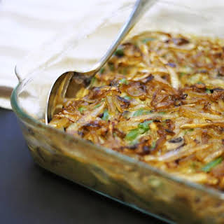 Clean Green Bean Casserole (Vegan, Paleo).