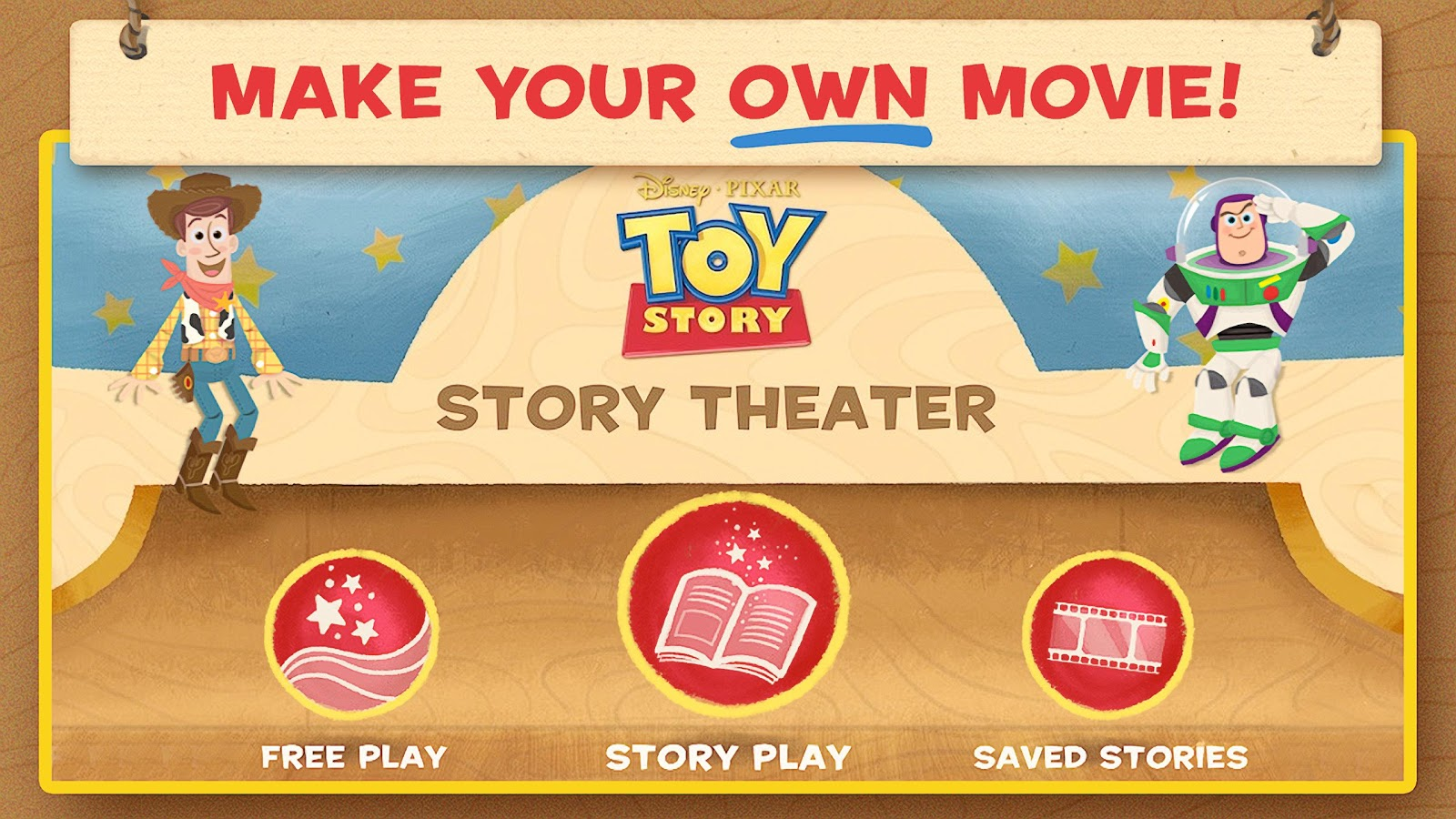 Toy Story: Story Theater - screenshot