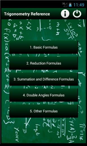 Trigonometry Reference