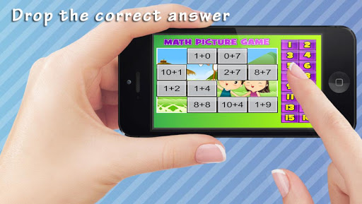 Math Kids Game to Cartoon FREE