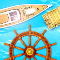 Dock your boat icon