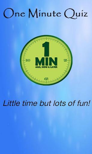 One Minute Quiz Free