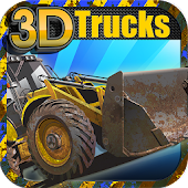 Construction Truck 3D Racing