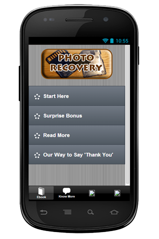 SD Card Photo Recovery Info