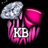 KB SKIN - ZebraPinkDiamonds3