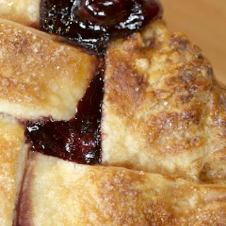 Cherry Pie with Lattice Top