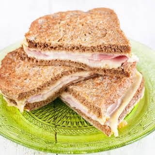 Ham And Cheese Toastie.