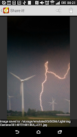 Screenshot of Lightning Camera