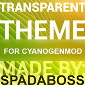 Transparent Gold - CM12 Theme