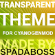 Transparent Gold - CM12 Theme v3.1
