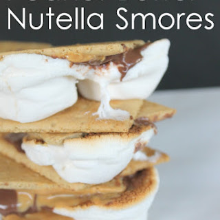 Peanut Butter Nutella Smores