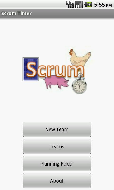 Scrum Timer - screenshot
